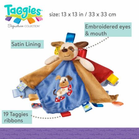 Taggies Buddy Dog Character Blanket