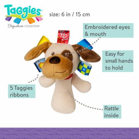 Taggies Buddy Dog Rattle