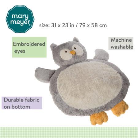 Grey Owl Baby Mat