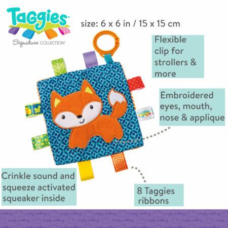 Taggies Crinkle Me Fox