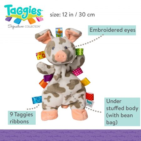 Taggies Patches Pig Lovey