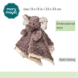 Putty Nursery Elephant Character Blanket