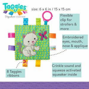 Taggies Crinkle Me Kitten
