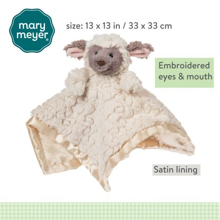 Putty Nursery Lamb Character Blanket