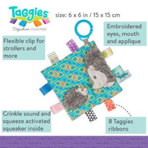 Taggies Crinkle Me Heather Hedgehog