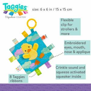 Taggies Crinkle Me Dipsy Duck