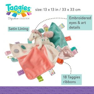Taggies Painted Pony Character Blanket