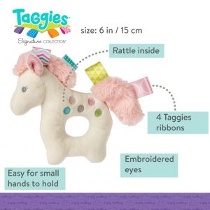 Taggies Painted Pony Rattle