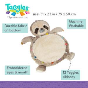 Taggies Molasses Sloth Baby Mat