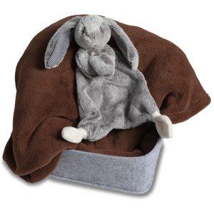 Silky Grey Bunny Lovey