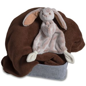 41760 Silky Tan Bunny Lovey