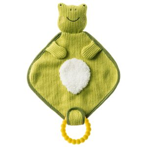 44341 Knitted Nursery Frog Lovey