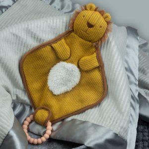44342 Knitted Nursery Lion Lovey