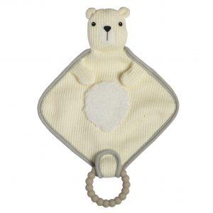 44344 44342 Knitted Nursery Polar Bear Lovey
