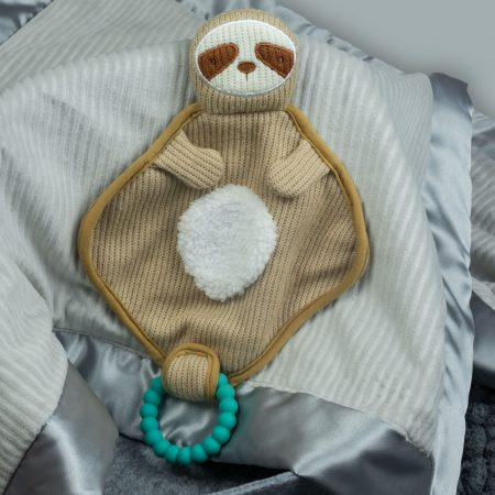 44345 Knitted Nursery Sloth Lovey