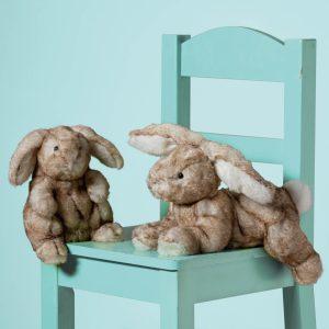 Honey-Bun Hare & Cinna-Bun Bunny